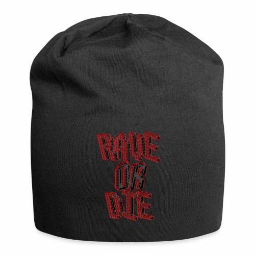 Rave Or Die Black - Beanie - Jersey-Beanie