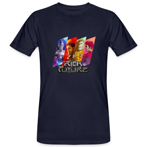 Rick Future Crew Tags, 100% Bio-Baumwolle T-Shirt ♂ - Männer Bio-T-Shirt