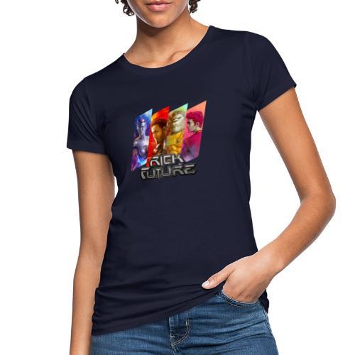 Rick Future Crew Tags, 100% Bio-Baumwolle T-Shirt ♀ - Frauen Bio-T-Shirt
