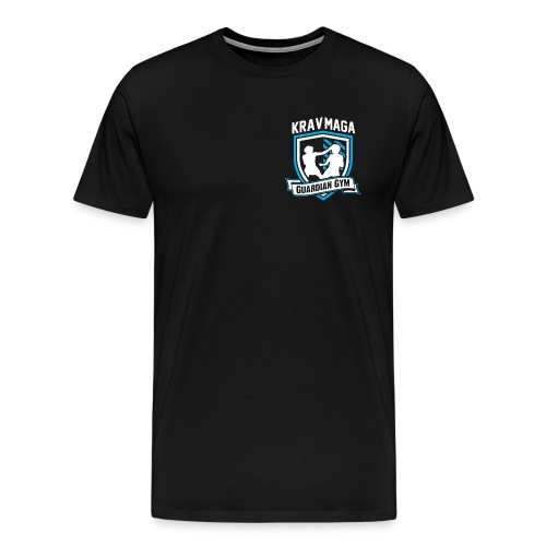 Guardian Gym  Krav Maga Logo - Männer Premium T-Shirt