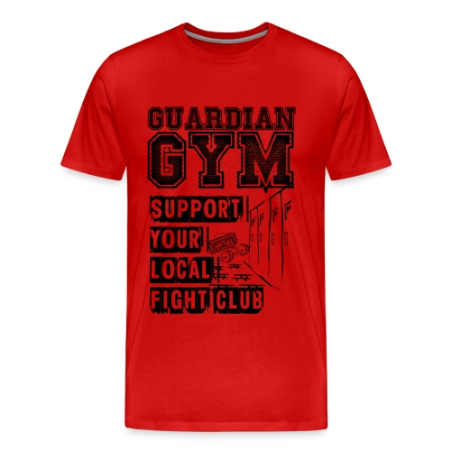 Guardian Gym Support Your Local Fight Club - Männer Premium T-Shirt