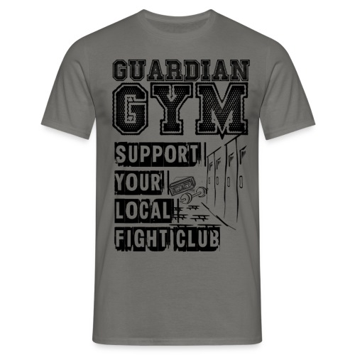 Guardian Gym Support Your Local Fight Club - Männer T-Shirt