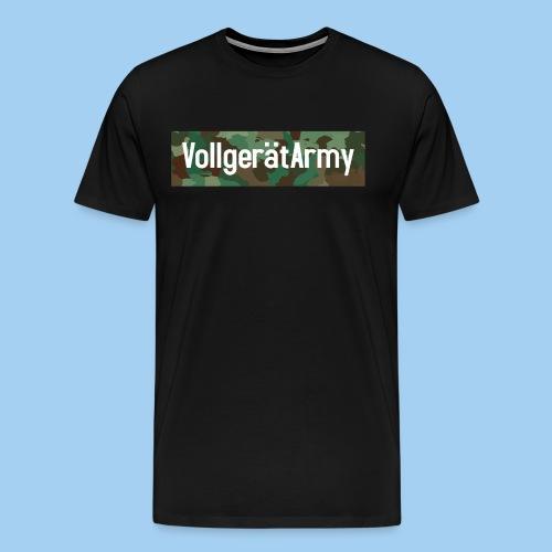 Vollgerät Army - Shirt  - Männer Premium T-Shirt