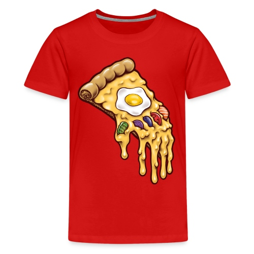 Infinity Pizza - Teenage Premium T-Shirt