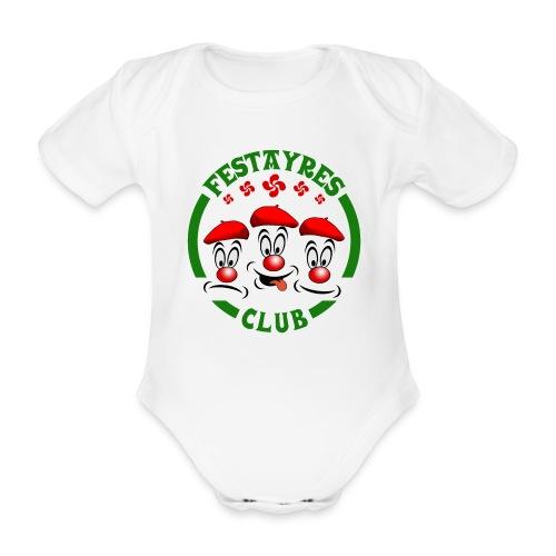 Festayres Club - Body bébé bio manches courtes