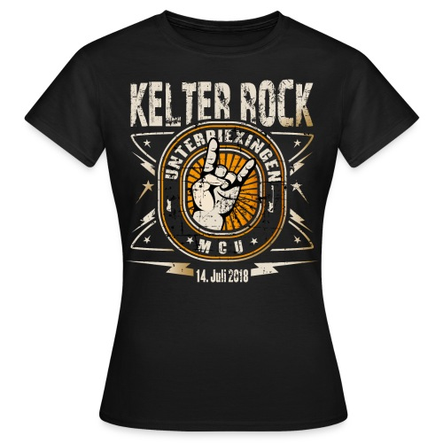 Girlie Shirt Kelter Rock 2018  - Frauen T-Shirt