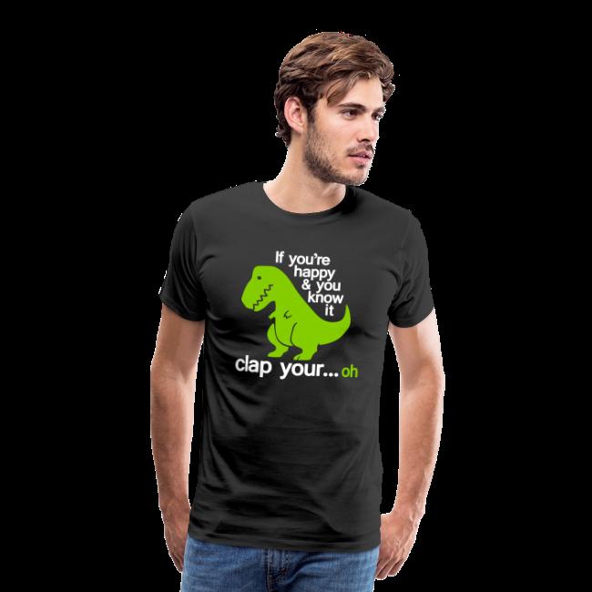 T-shirt Premium, Happy T-Rex