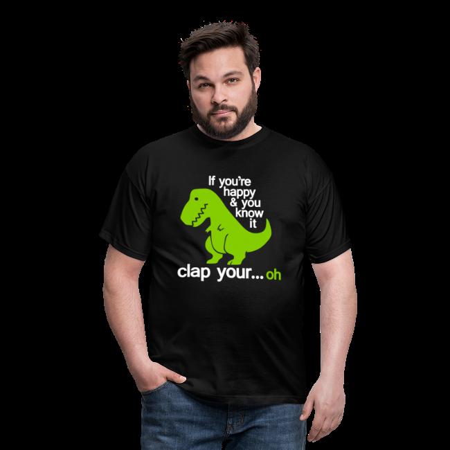 T-shirt, Happy T-Rex