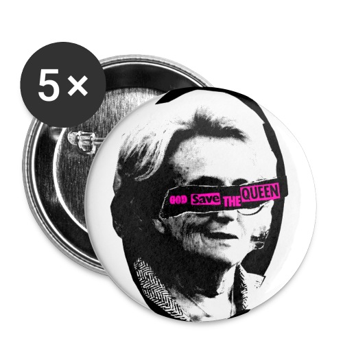 God Save Bernadette - Badge petit 25 mm