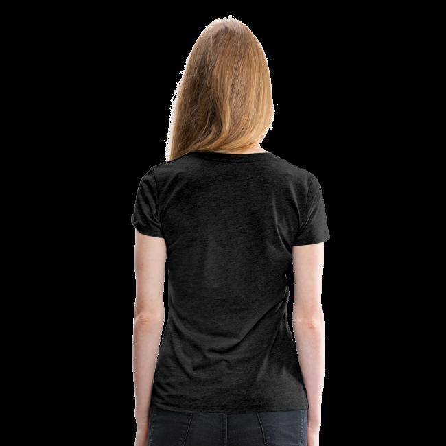 T-shirt dam Premium, 1N73LL1G3NC3