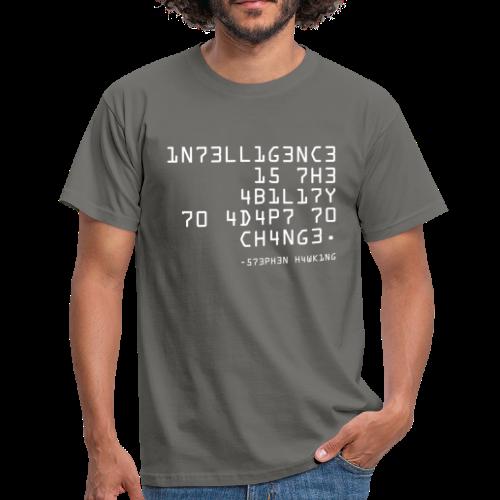 T-shirt, 1N73LL1G3NC3 - T-shirt herr