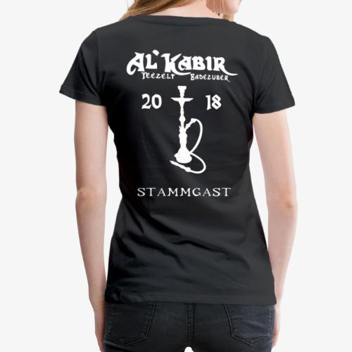 Frauen T-Shirt - CoM 2018 Stammgast - Frauen Premium T-Shirt