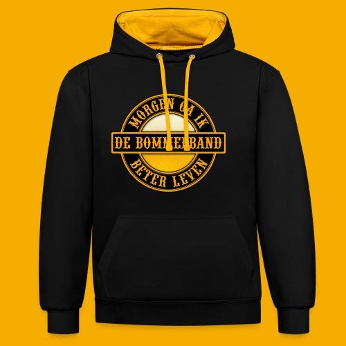 Two Tone Hoodie - Contrast hoodie