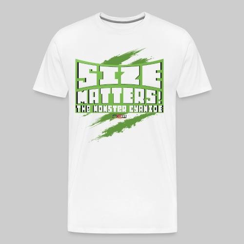 T-Shirt Size Matters - Männer Premium T-Shirt