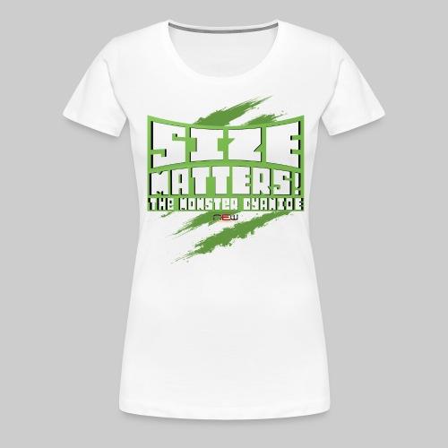 Ladies-Shirt Size Matters - Frauen Premium T-Shirt
