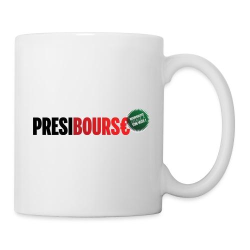 PrésiBours€ cocarde - Mug blanc