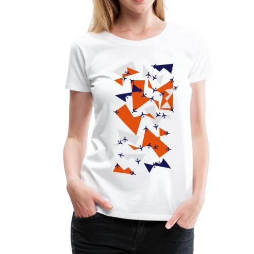 Planealicious:  Frauen T-Shirt (runder Ausschnitt) - Frauen Premium T-Shirt