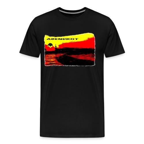 ABENDROT - Männer Premium T-Shirt
