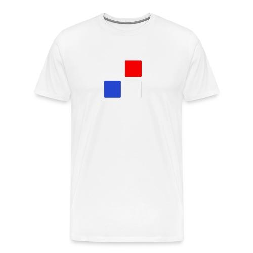 BlauRot - Männer Premium T-Shirt