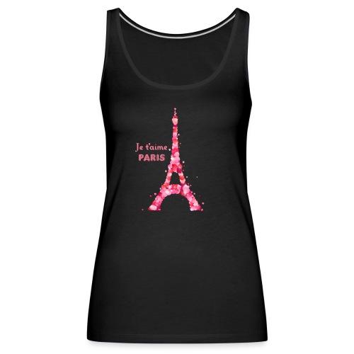 Débardeur  premium Paris je t'aime - Débardeur Premium Femme