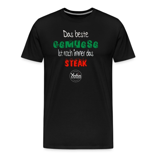 Das beste Gemüse ist - Männer Premium T-Shirt