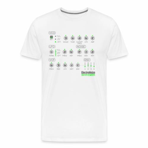 ElectroNoize Synthesizer 2 - T-Shirt - Männer Premium T-Shirt