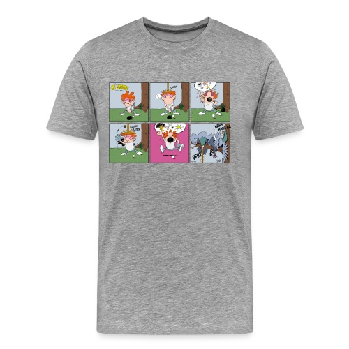 Birdies The Golfers 18-25 - Männer Premium T-Shirt