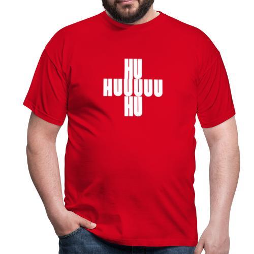 HUUU Schlachtruf - Männer T-Shirt