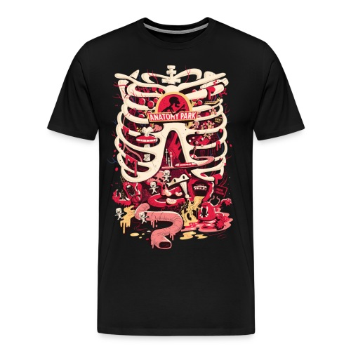Anatomy Park - Männer Premium T-Shirt