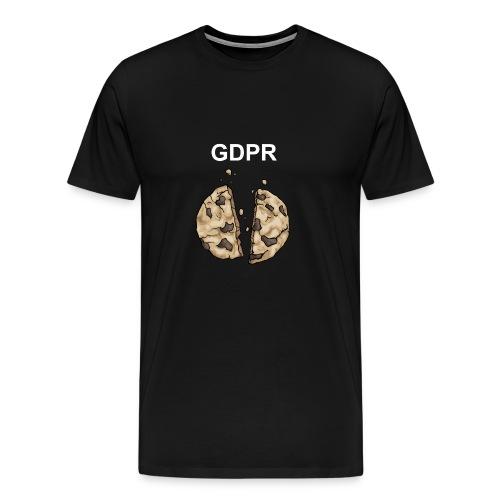 Und so zerbröselt der Keks - Männer Premium T-Shirt