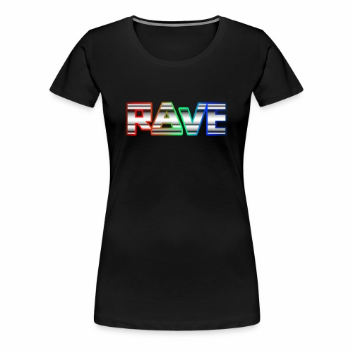 Rave Rainbow - T-Shirt - Frauen Premium T-Shirt