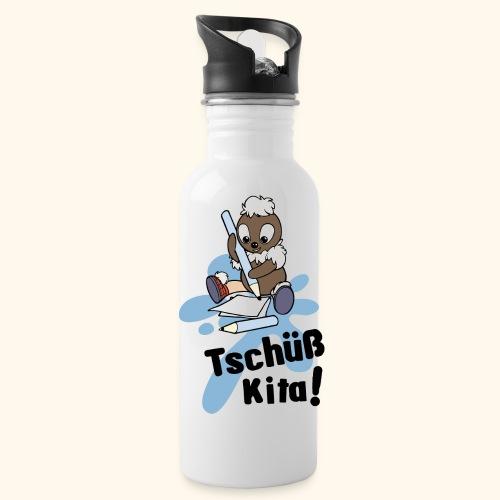 Pittiplatsch Tschüß Kita Trinkflasche - Trinkflasche