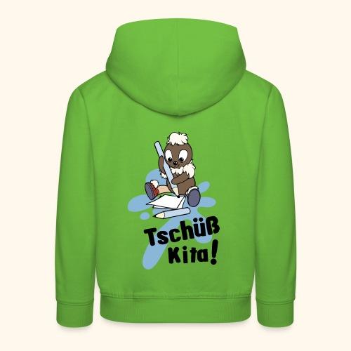 Pittiplatsch Tschüß Kita Kapuzenpullover - Kinder Premium Hoodie