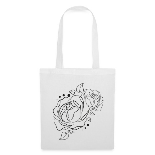 "Tote Bag Flower power"" - Tote Bag"