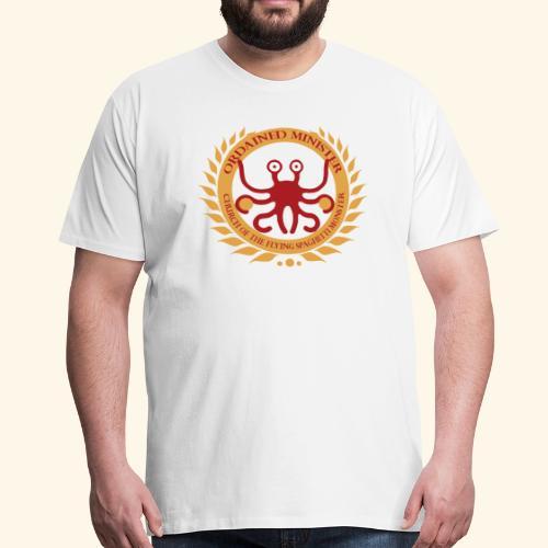Ordained Minister FSM large - Mannen Premium T-shirt