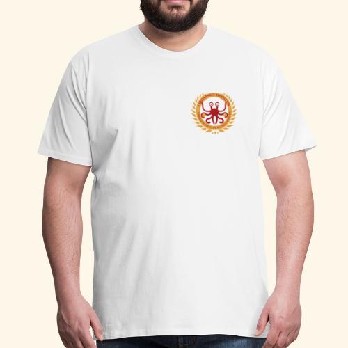 Ordained Minister FSM breast - Mannen Premium T-shirt