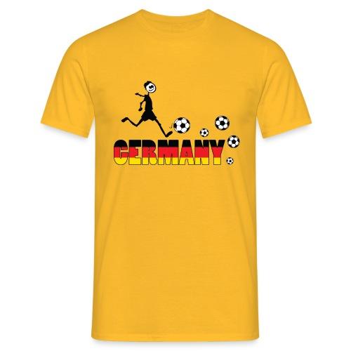 GO GO GERMANY Men's T-Shirt - Men's T-Shirt
