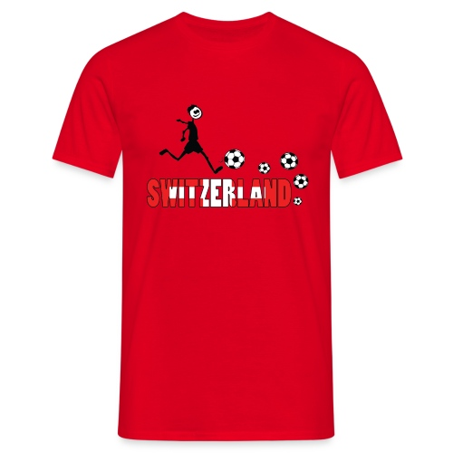 GO GO SWITZERLAND  - Men's T-Shirt