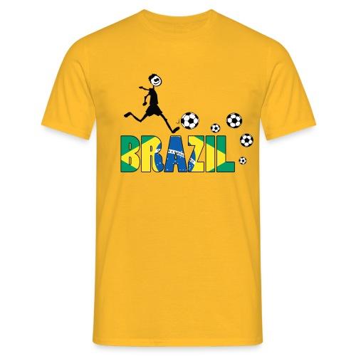 GO GO BRAZIL Men's T-Shirt - Men's T-Shirt