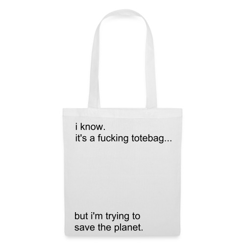 Save the planet - Tote Bag