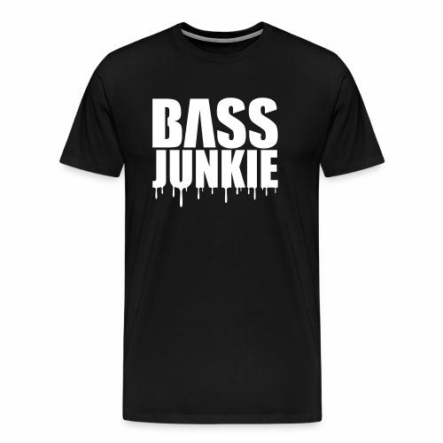 Bassjunkie - T-Shirt - Männer Premium T-Shirt