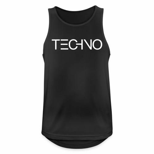 DIGITAL TECHNO - Tanktop - Männer Tank Top atmungsaktiv