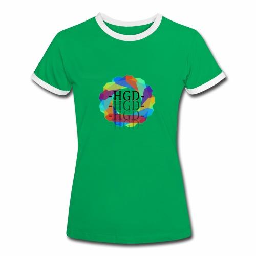 HEIGEND | Frauen Kontrast-T-Shirt | ADRT - Women's Ringer T-Shirt