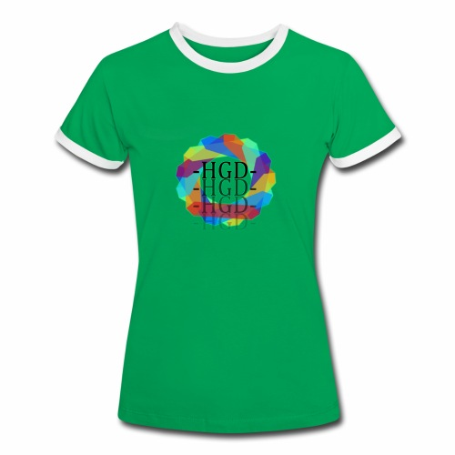 HEIGEND | Frauen Kontrast-T-Shirt | ADRT - Women's Ringer T-Shirt