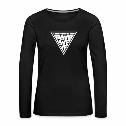 Rave Pyra One - langarm Shirt - Frauen Premium Langarmshirt