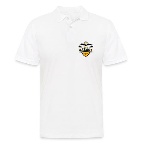 Ed's Garage, Polo weiß  - Männer Poloshirt