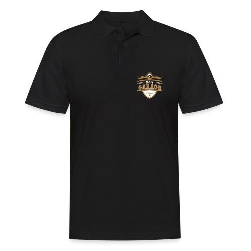 Ed's Garage, Polo schwarz  - Männer Poloshirt