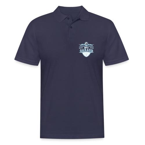Ed's Garage, Polo blau  - Männer Poloshirt
