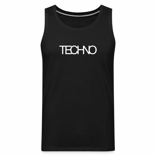 Techno - Tanktop - Männer Premium Tank Top