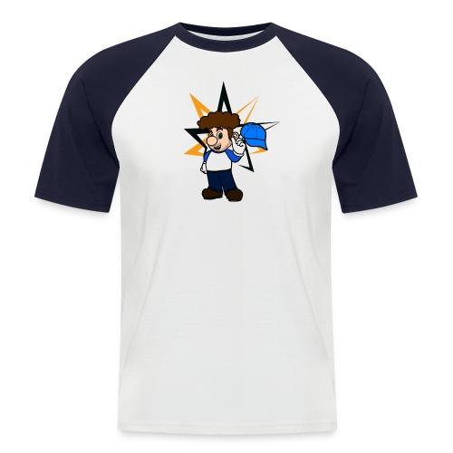 #teamtesalbert Shirt 2.0 - Männer Baseball-T-Shirt
